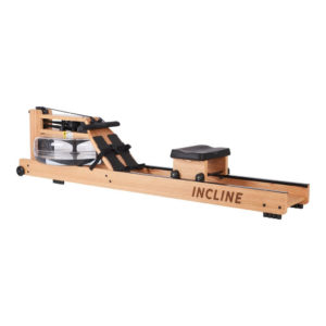 Incline Fit Wood Water Rowing Machine