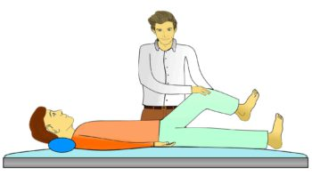 Physical Therapy on Patient
