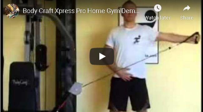 BodyCraft XPress Pro 200lb. Single Stack Gym