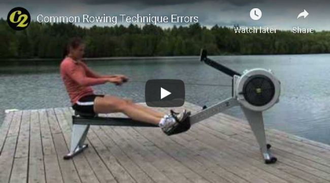 Common Rowing Techniques