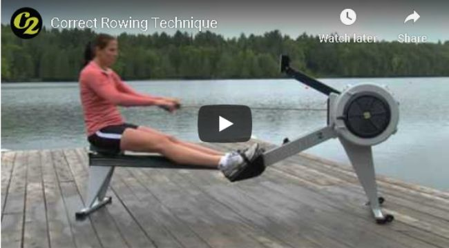 Correct Rowing Techniques