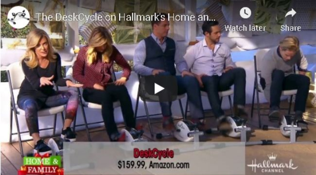 DeskCycle on Hallmark Home