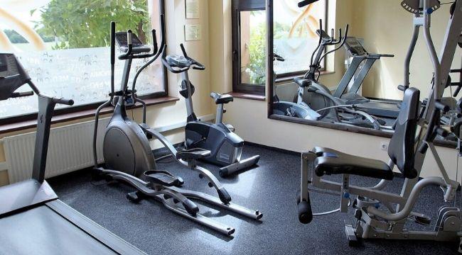 Exercise Bike In Studio