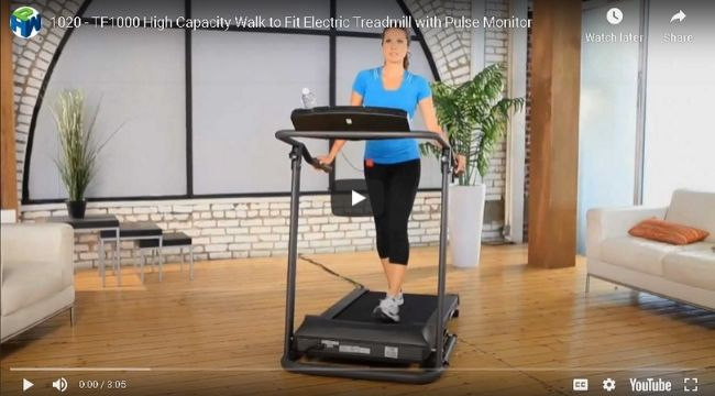 Exerpeutic TF1000 Ultra-Electric Treadmill