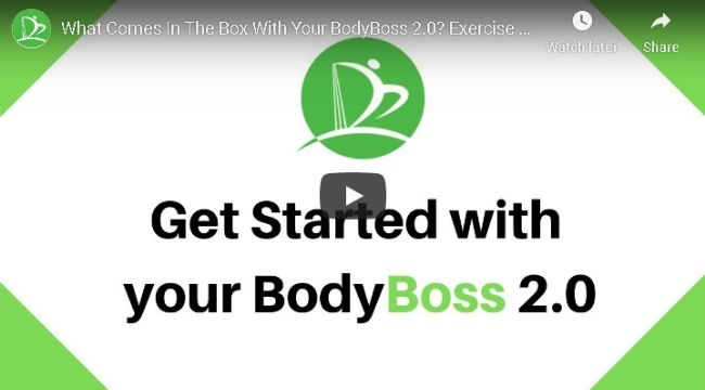 Get Started with BodyBoss 2.0