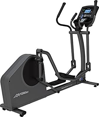 Life Fitness E1 Go Cross-Trainer, Titanium
