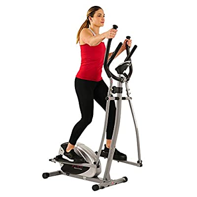 Magnetic Elliptical Machine by Sunny Health & Fitness SF-E905