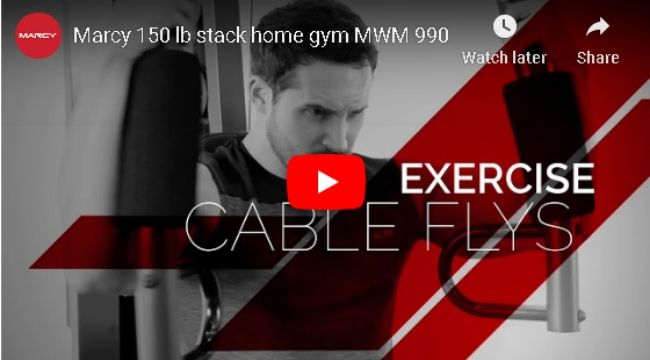 Marcy 150-lb Multifunctional Home Gym Station MWM-990