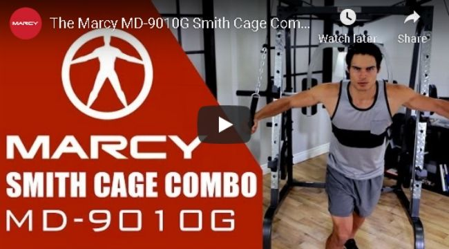 Marcy Smith Cage Home Gym System MD-9010G